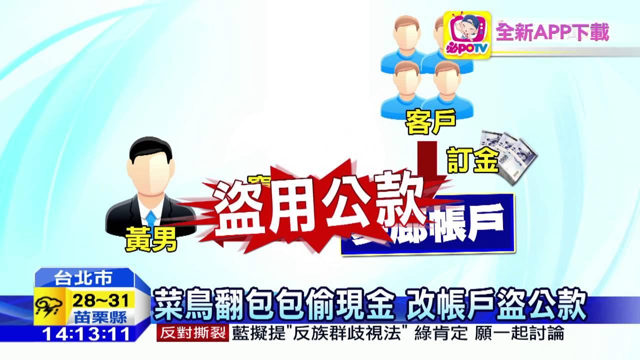 20160612中天新聞 知名髮廊遭竊20萬 惡員工臉書炫耀
