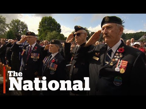 Dieppe Raid: 75th anniversary tribute