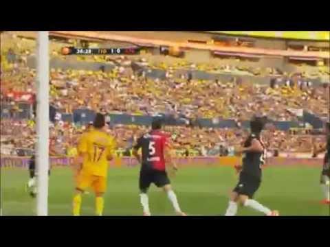 Los Goles Oficiales De Hugo Ayala Con Tigres