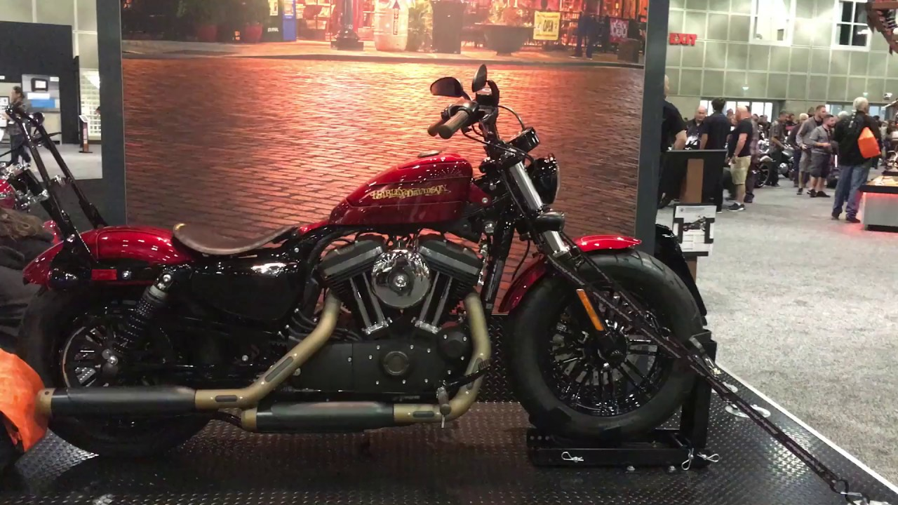 Customized 2018 Xl1200x Forty Eight New Models Harley