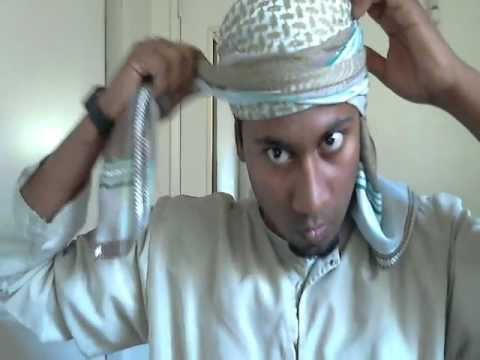 How to tie Imamah [Yemeni,Omani or Bedouin style]