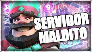 EL SERVIDOR MALDITO DE CLASH ROYALE-CREEPYPASTA CLASH ROYALE-Nefi 56