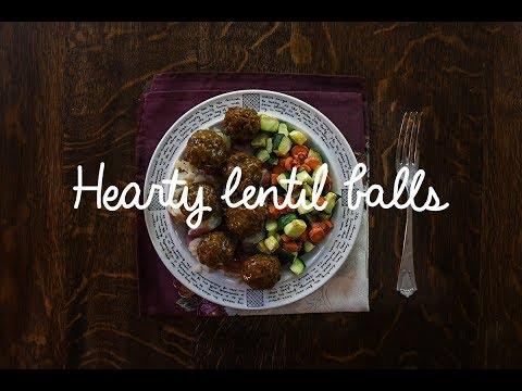 Mushroom Lentil Balls (Vegan and GF)