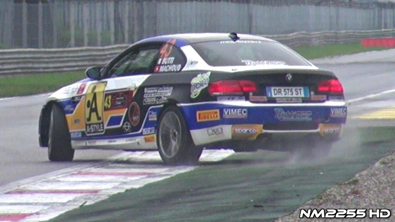BMW M3 E92 DRIFT + CRASH! - YouTube
