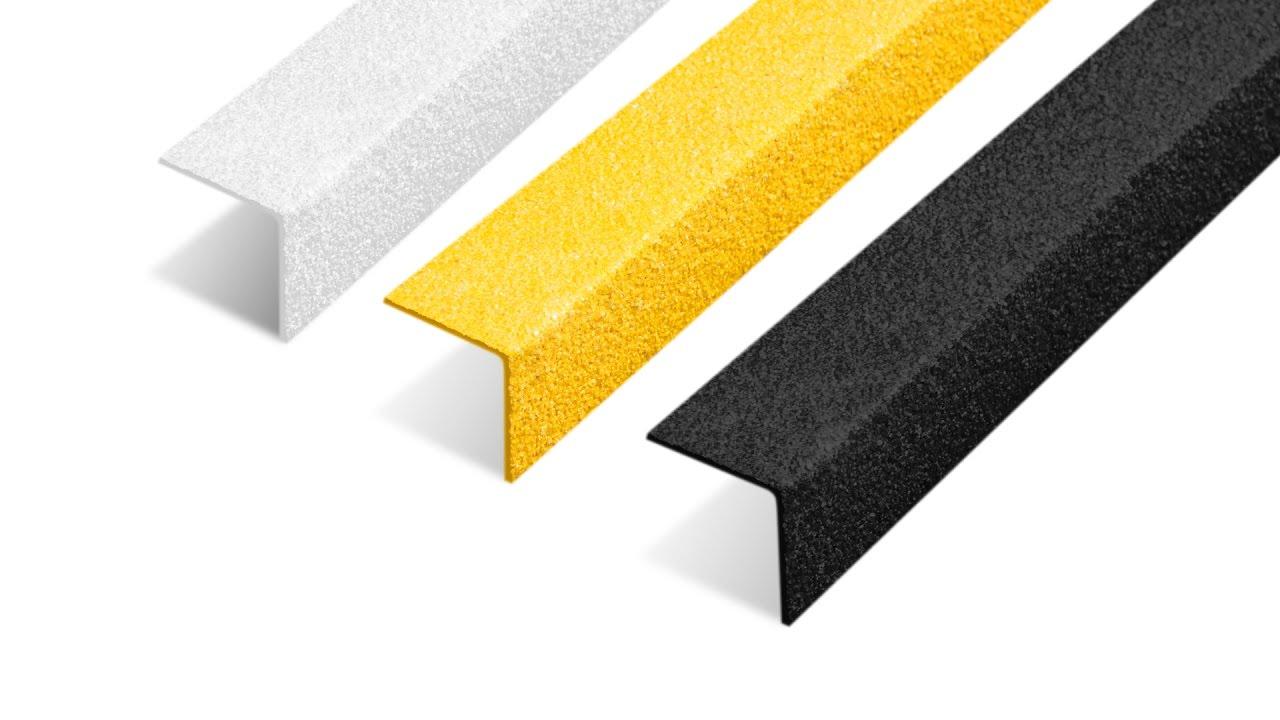 How To Install Anti Slip Stair Nosing Safe Tread Youtube | Carpet Stair No Slip Nosing | Stair Tread Nosing | Strips | Non Skid | Laminate Flooring | Gravel