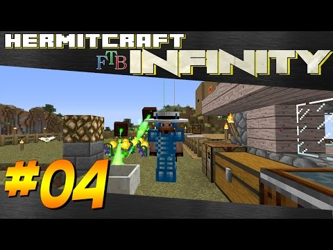Minecraft: Hermitcraft FTB Infinity - Ep 4 - Flower Fuel