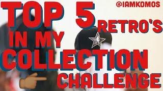 Sneaker Challenge Top 5 Jordan retro