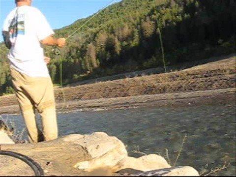 Flyfishing for kokanee salmon in idaho fly fishing youtube for Fly fishing boise idaho
