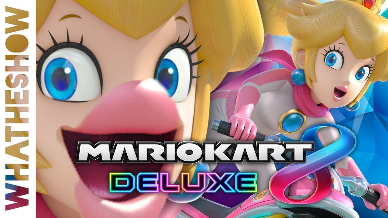 Mario Kart 8 Deluxe Princess Peach Special Cup Full Playthrough