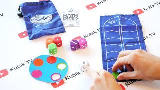 Обзор игры ThinkFun Math Dice | Математические кубики