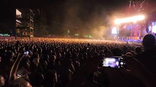Iron maiden - the wicker man ( rockwave athens 20 - 7 - 2018) crowd Legacy of the Beast