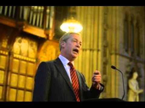 UKIP Nigel Farage vs Conservative Bill Cash - Bruges Group 2013