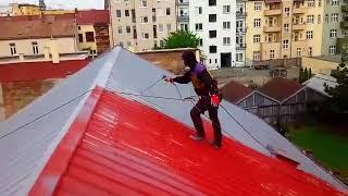 Nátěr hliníkové střechy