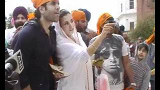 Tushar Kapoor at Golden Temple-chaar din ki chandani-kulraj randhawa,chanderchoorh singh