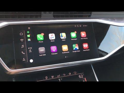 2019 Audi Wireless Apple CarPlay Tutorial!! (Iphone on the dash!)
