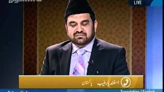 A caller claims that God speaks to him, can he claim prophethood_persented by khalid Qadiani.flv