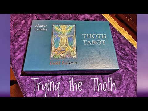 Trying The Thoth!