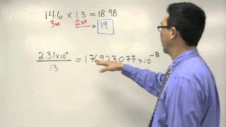 Operations with Sig Figs