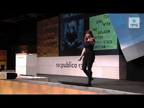 re:publica 2013 - Keren Elazari: Take a ride on the Cyberpunk Express train
