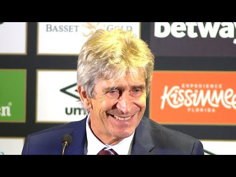 West Ham 3-1 Manchester United - Manuel Pellegrini Full Post Match Press Conference - Premier League