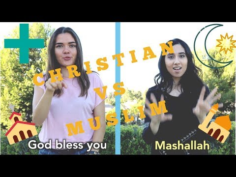 Christian And Muslim Sign Language!