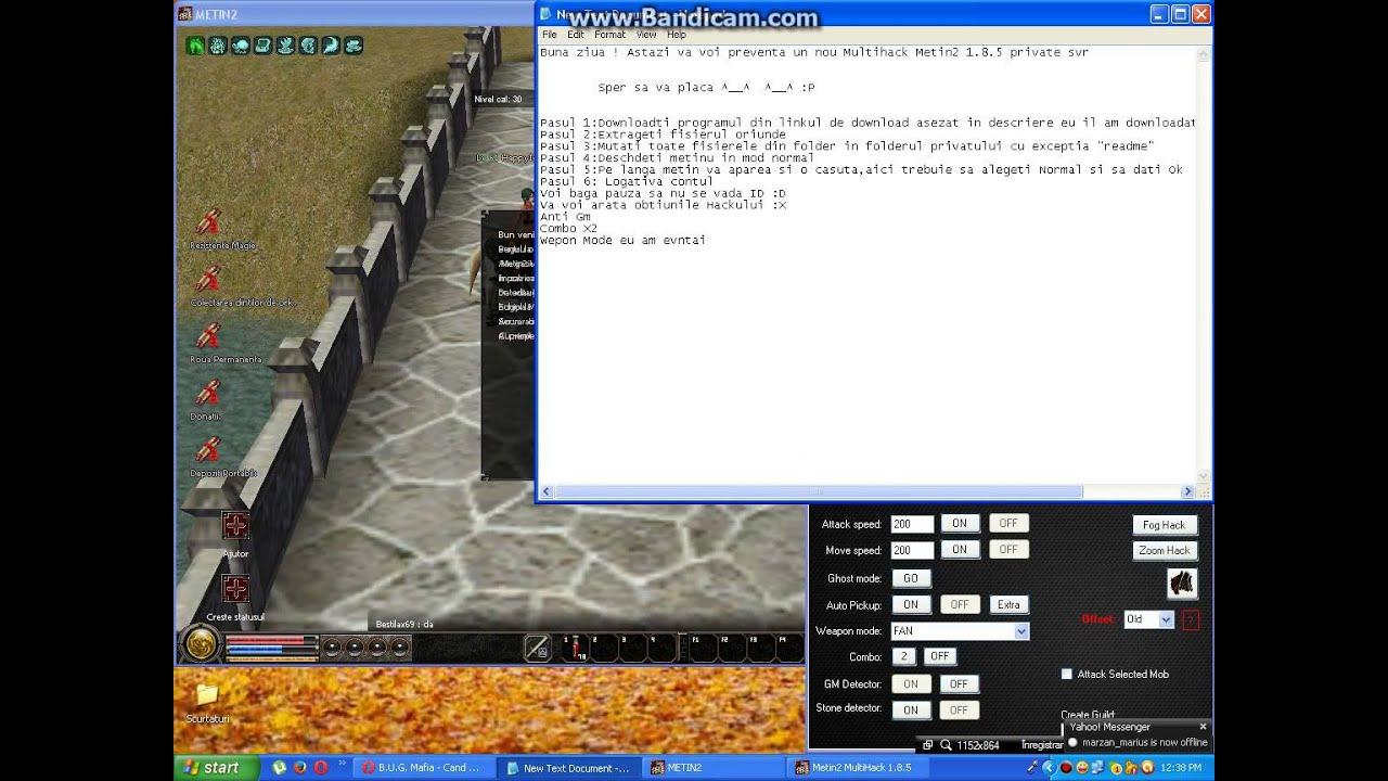 MultiHack Private SERVER testat +link download - смотреть