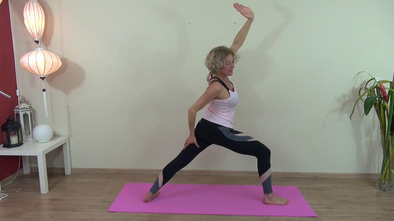 Aerobic zum Abnehmen von Armen und Rücken