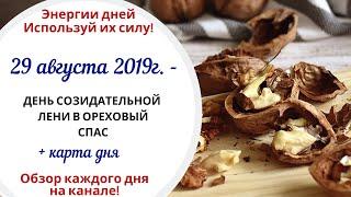 29 августа (Чт) 2019г. - День созидательной лени