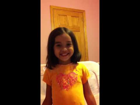 Sofia singing weather song