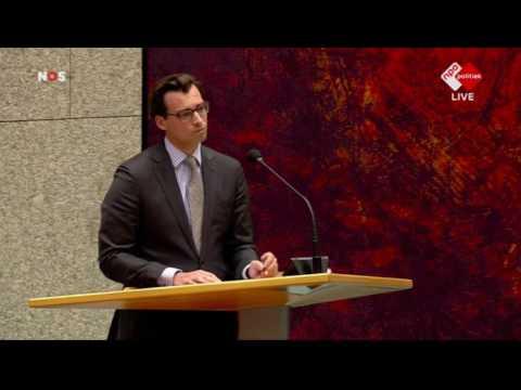 Thierry Baudet (FvD) in debat over Syrië en al dan niet optreden Assad