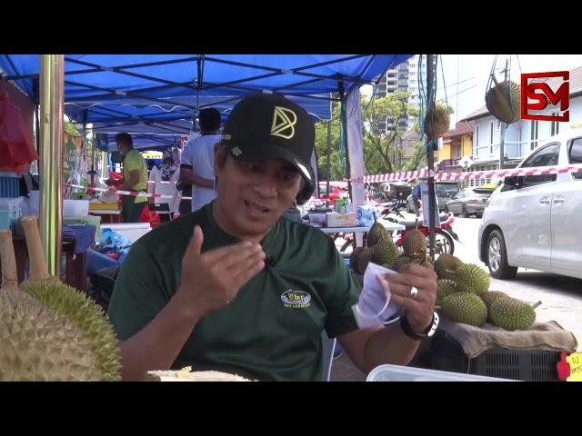 Baggio kini jual Durian