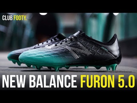c1e96b7e2a38d NEW BALANCE DROP THE FURON 5.0 | CLUB FOOTY - YouTube