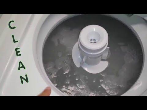 CLEAN YOUR WASHING MACHINE!