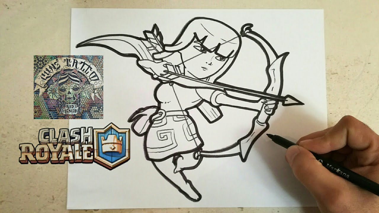 CLASH ROYALE / How To Draw