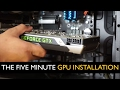 Custom Computer Diary #1 - GPU Installation