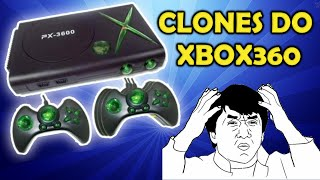 Clones descarados do XBOX360 Famiclones