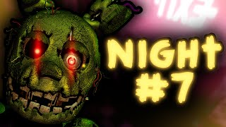THE PUPPET IN THE DOORWAY!! || FNAF 3 Custom Night (Night #7) 8/20 Mode! (FNAF3 Mod)