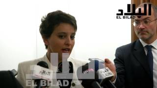 """الوزيرة الفرنسية """"نجاة فالو"""" تكشف المستور عن """"إصلاحات بن غبريت"""""""