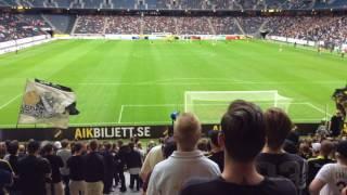 AIK - Kalmar FF 30 juli 2017