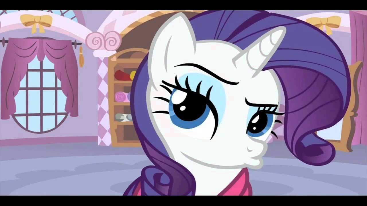 Rarity Awkwardly Bats Her Eyelashes For A Minute Youtube