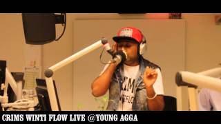 CRIMS - WINTI FLOW LIVE @YOUNG AGGA (DEN HAAG FM)