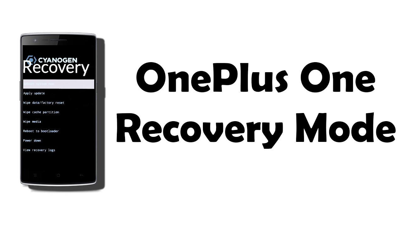 How to enter Recovery Mode on OnePlus One Tutorial