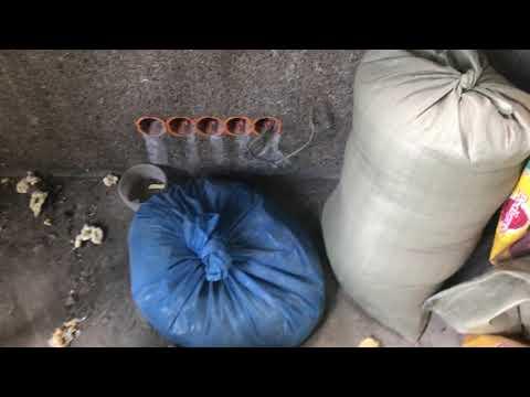 Как сохранить цемент в мешках