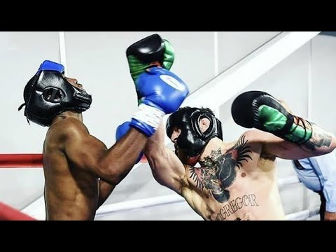 (SPARRING FOOTAGE) PAULIE MALIGNAGGI REVEALS MCGREGORS BIGGEST FLAW