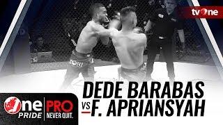 [HD] Dede Barabas vs Fajar Apriansyah - One Pride MMA 3 - FULL FIGHT