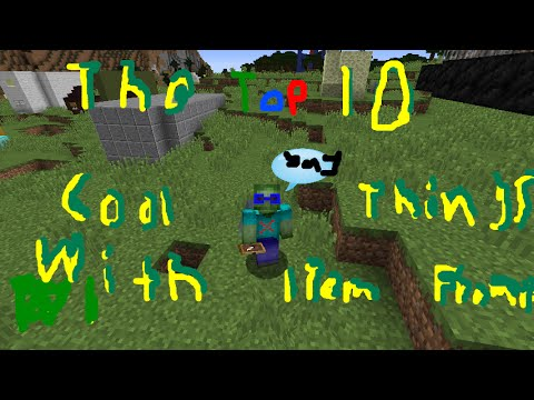 The Top 10 Cool Things You Can Do With Item Frames