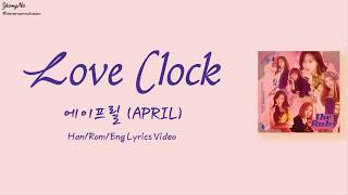 [1.15 MB] [Han/Rom/Eng]Love Clock - 에이프릴 (APRIL) Lyrics Video