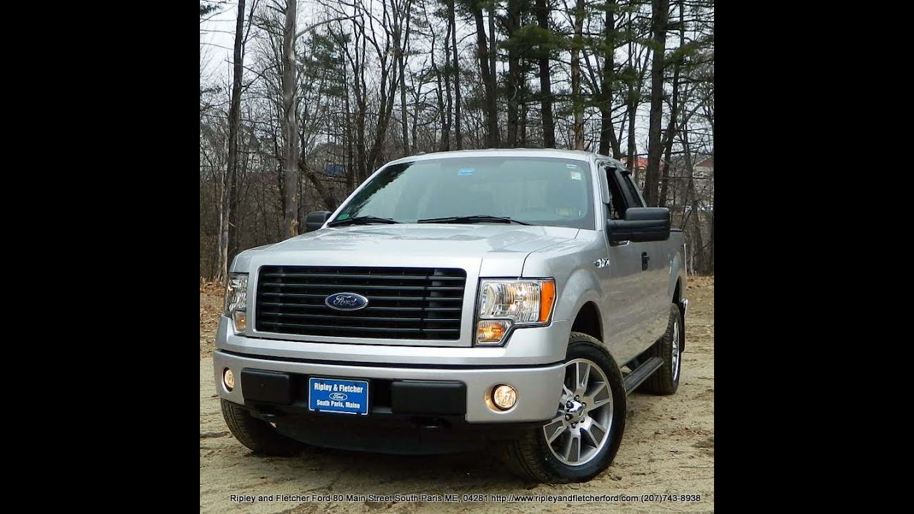 best price lowest price 2014 ford f 150 super cab 4x4 stx for sale near portland maine youtube. Black Bedroom Furniture Sets. Home Design Ideas
