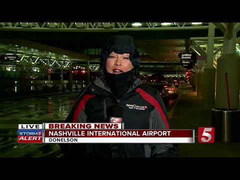 Flight Delays Because Of Winter Weather