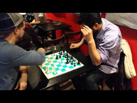 Fast Chess Jacob Vs Ivan @ Cafe Pi Montreal
